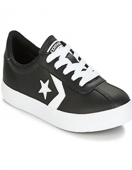 Buty Dziecko Converse  BREAKPOINT FOUNDATIONAL LEATHER BP OX BLACK/WHITE/BLACK