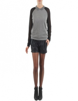 Szorty i Bermudy  Esprit  PERFORATED SHORT