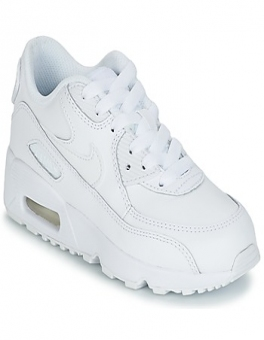 Buty Dziecko Nike  AIR MAX 90 LEATHER PRE-SCHOOL
