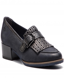 Półbuty TAMARIS - 1-24306-21 Navy/Black 816