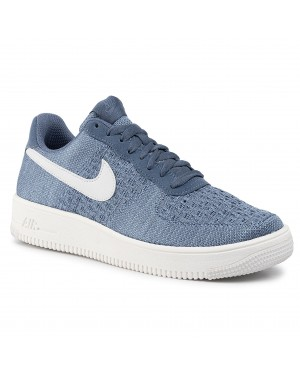 Buty NIKE - Air Force 1 Flyknit 2.0 CI0051 400 Ocean Fog/ Summit White