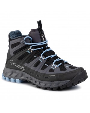 Trekkingi AKU - Selvatica Mid Gtx Ws GORE-TEX 676 Black/Light Blue 144