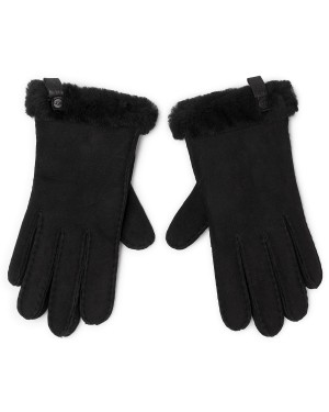 Rękawiczki UGG - W Shorty Glove W Leather Trim 17367  Black