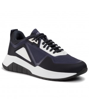 Sneakersy HUGO - Atom 50414637 10214953 01 Dark Blue 401