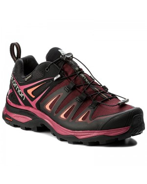 Trekkingi SALOMON - X Ultra 3 Gtx W GORE-TEX 398681 20 V0 Tawny Port/Black/Living Coral