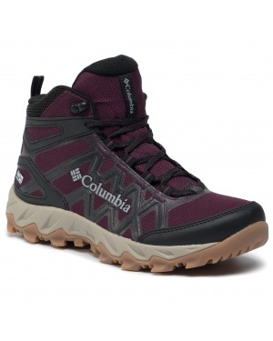 Trekkingi COLUMBIA - Peafreak X2 Mid Outdry BL0828 Black Cherry/Columbia Grey 639