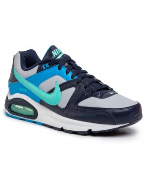 Buty NIKE - Air Max Command 629993 050 Wolf Grey/Aurora Green