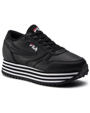 Sneakersy FILA - Orbit Zeppa Stripe Wmn 1010667,11W Black/Stripe