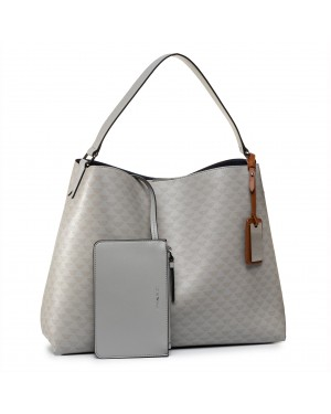 Torebka EMPORIO ARMANI - Y3E163 YMP6E 84305 Grey/Navy/Leather