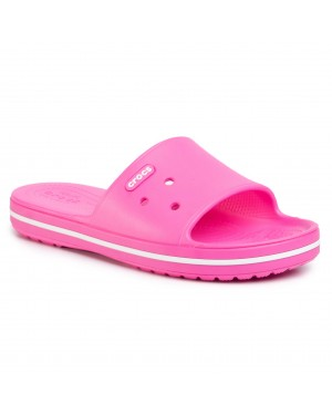Klapki CROCS - Crocband III Slide 205733  Electric Pink/White