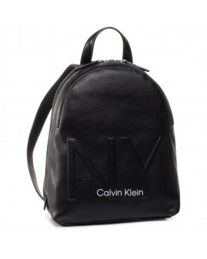 Plecak CALVIN KLEIN - Ny Shaped Backpack Sm K60K606491 BAX