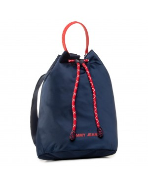 Plecak TOMMY JEANS - Tjw Nautical Mix Drawstring Nyl AW0AW08254 0F4