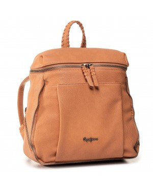 Plecak PEPE JEANS - Braid Backpack PL120028  Apricot Orange 186