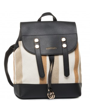 Plecak MONNARI - BAG0040-M20 Black With Beige