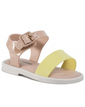 Sandały MELISSA - Mini Melissa Mar Sandal III Bb 32633 Pink/White/Yellow 53612